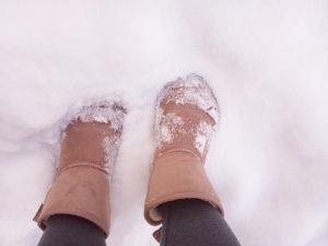 雪道歩き方