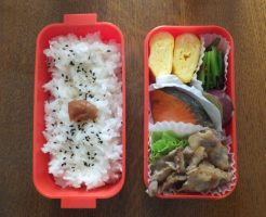 生姜焼きを弁当に入れる時の保存方法と白い油